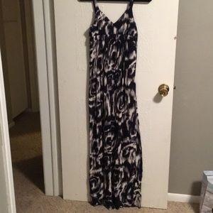 Lucky brand maxi dress size xs
